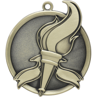 "2¼"" Torch Mega Medal"