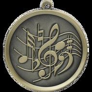 """2¼"""" Music Mega Medal"""