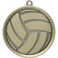 "2¼"" Volleyball Mega Medal"