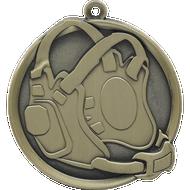 """2¼"""" Wrestling Mega Medal"""