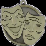 "2¼"" Drama Mega Medal"