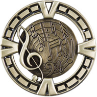 """2½"""" Music Victory Medal"""