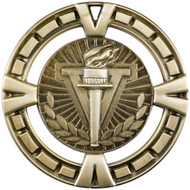 "2½"" Torch Victory Medal"
