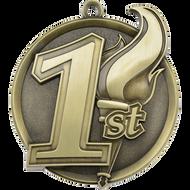 """2¼"""" Place Mega Medal"""