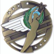 """2¾"""" Achievement Color Sport Medal"""