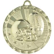 "2"" Football Brite Medal"
