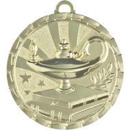 """2"""" Lamp of Knowledge Brite Medal"""