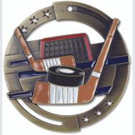 "2¾"" Hockey Color Sport Medal"