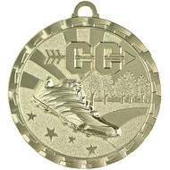 "2"" Cross Country Brite Medal"