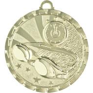 """2"""" Swimming Brite Medal"""