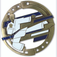 "2¾"" Martial Arts Color Sport Medal"