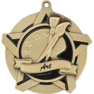 "2¼"" Art Super Star Medal"