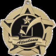 "2¼"" Attendance Super Star Medal"