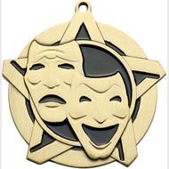 "2¼"" Drama Super Star Medal"