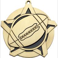"""2¼"""" Football Super Star Medal"""