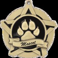 """2¼"""" Mascot Super Star Medal"""