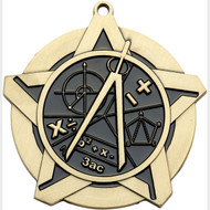 "2¼"" Math Super Star Medal"