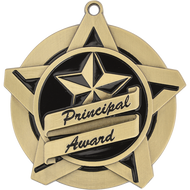 "2¼"" Principal's Award Super Star Medal"