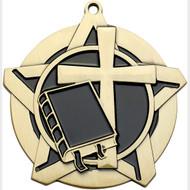 "2¼"" Religion Super Star Medal"