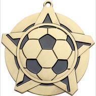 """2¼"""" Soccer Super Star Medal"""