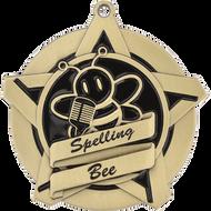 "2¼"" Spelling Bee Super Star Medal"