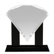 "10½"" Diamond Acrylic"