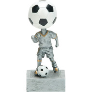 "5½"" Soccer Bobblehead Resin"