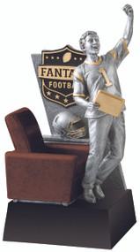 "13"" Touchdown Fantasy Football Resin"