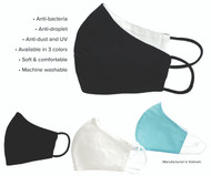 3 Layer Woven Masks - 5 Pack