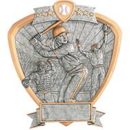 "8"" Baseball Shield Resin"
