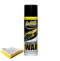 Carnauba Cleaner Wax with Terry and Microfiber Towel