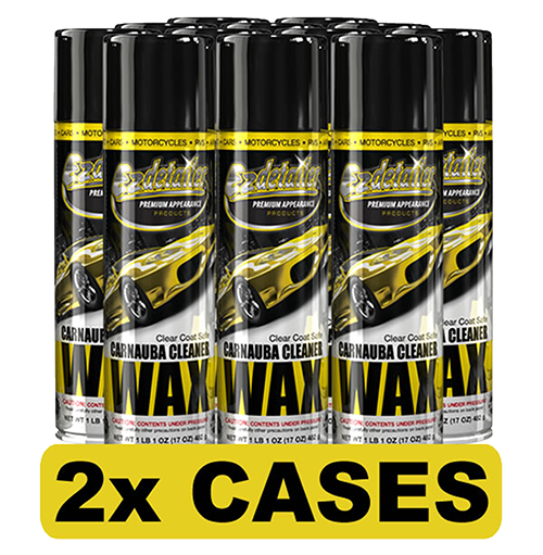 Carnauba Wax Cleaner 24 Cans