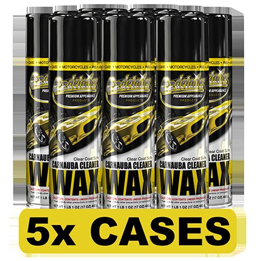 Carnauba Wax Cleaner 60 Cans