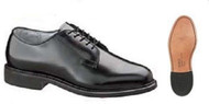 Bates 1708-B Womens Premium Leather Uniform Oxford w/ Leather Sole Shoe