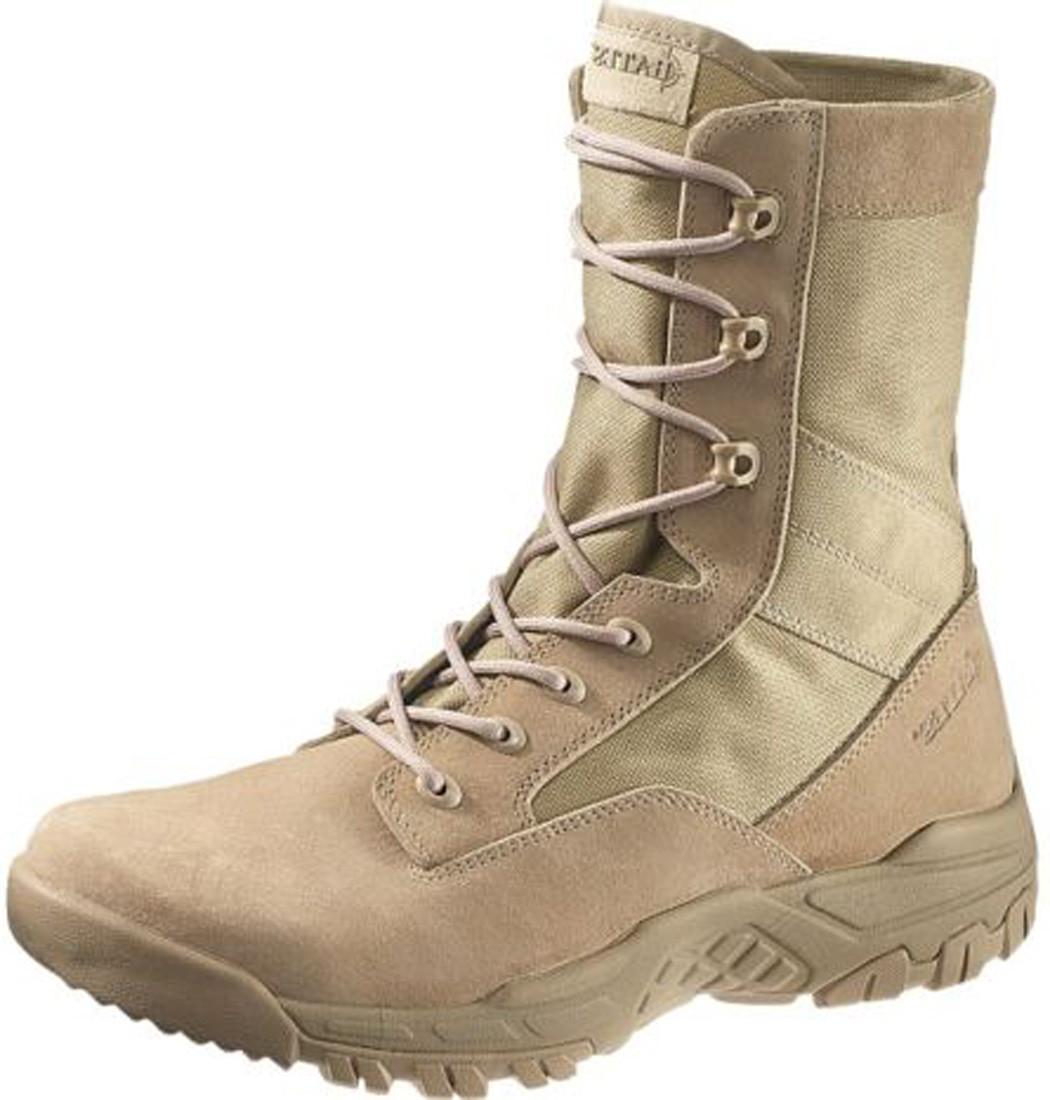 6aadccec2a0 Bates 5118-B Mens 8-Inch Desert Tan Zero-Mass Military Boots