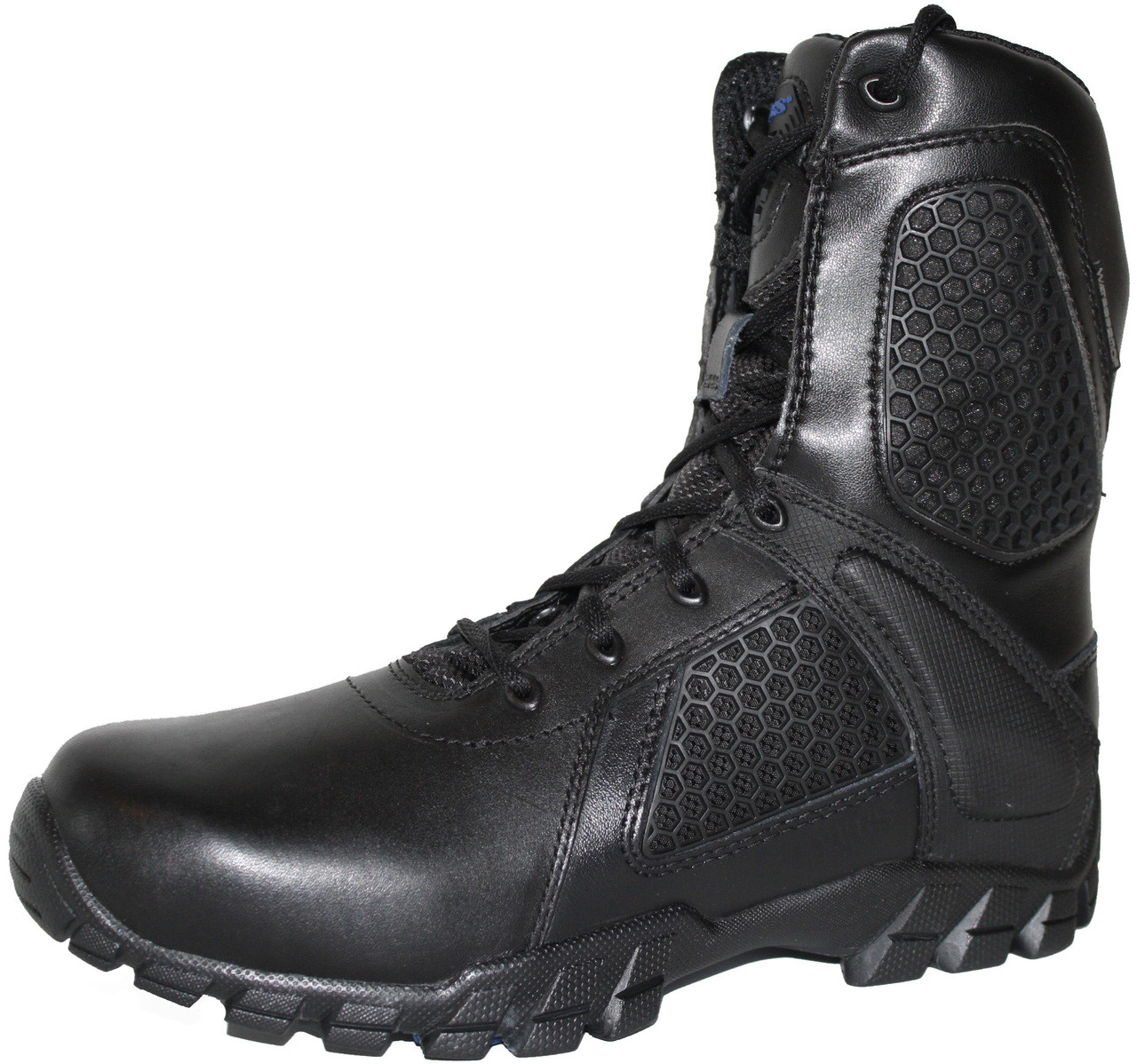 d1639e5d110 Bates 7008-B Mens 8 Inch Strike Side Zip Waterproof Tactical Boot