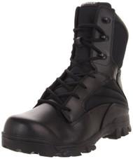 Bates 2068-B Mens 8 Inch Leather Nylon ZR8 Side Zip Uniform Boot
