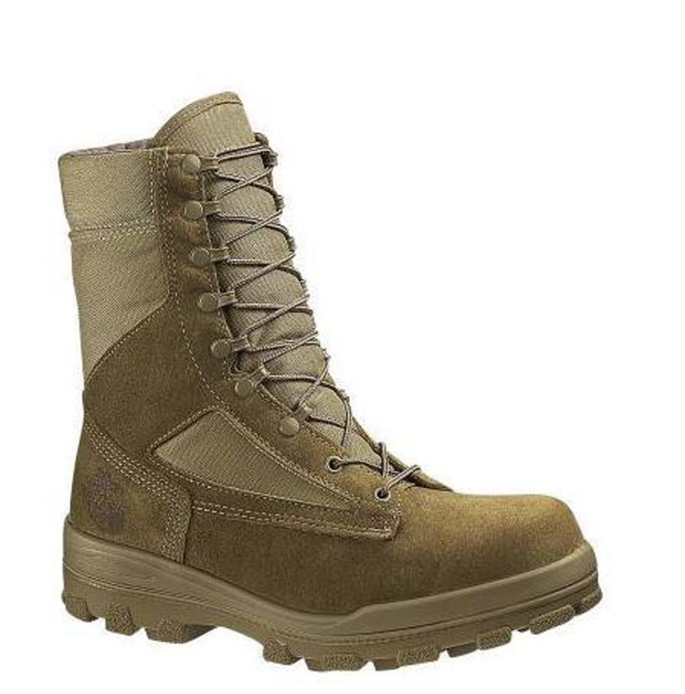 dede9894525 Bates 30501-B Mens USMC Durashocks Hot Weather Boot