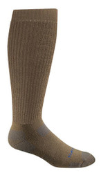 Bates Footwear Tactical Uniform Over the Calf Coyote Brown 1 Pk Socks Made in the USA