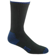 Bates Footwear Cotton Crew Black 3 Pk Socks