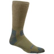 Bates Footwear Mid Calf Tactical Uniform Army Brown 1 Pk Socks