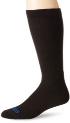 Bates Mens Thermal Uniform Mid Calf Black 1 Pk Large Socks Made in the USA