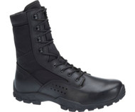"Bates 22681-B Mens Cobra 8"" Black Side Zip Hot Weather Jungle Boot"