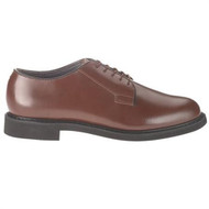 Bates 82-B Mens Lites Brown Leather Uniform Oxford Shoe