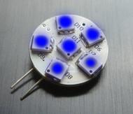 G4 Blue LED Bulb
