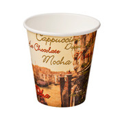 CA-SW12-CVZ 12oz Single Wall Cups Cafe Venezia