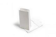 SOS #8 Block Bottom Bags - White