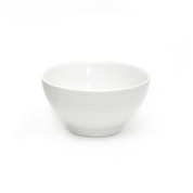 180mm Genfac Round Bowls White
