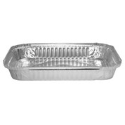 7131 (485) Foil Large Shallow Oblong Half Gastronorm Container Base