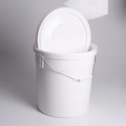 20Lt Plastic Bucket & Lid